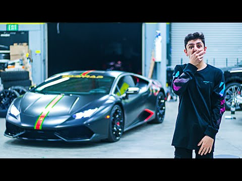 36f7c384b5b The Reveal of my NEW GUCCI LAMBORGHINI!! - PakVim.net HD Vdieos Portal
