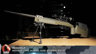 Video VFC M40A5 Gas Sniper Rifle - RedWolf Airsoft RWTV download MP3, MP4, WEBM, AVI, FLV April 2018