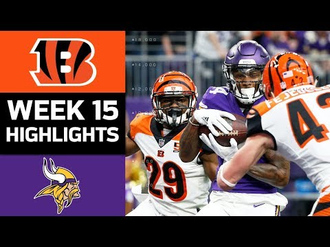 Bengals vs. Vikings | NFL Week 15 Game Highlights