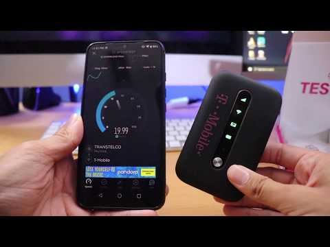 T-Mobile Test Drive (Free Mobile Hotspot For 30 Days)