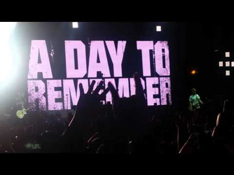 A Day To Remember EPIC INTRO 2016 LIVE