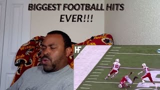 Biggest Football Hits Ever Reaction!!!