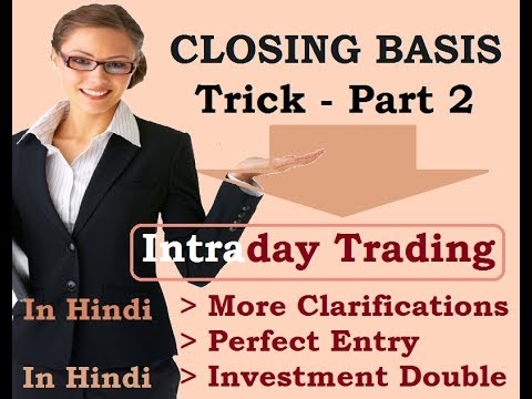 INTRADAY TRADING, PERFECT ENTRY SHORT (SELL), RS. 1 LAC GUARANTEE (IN HINDI)