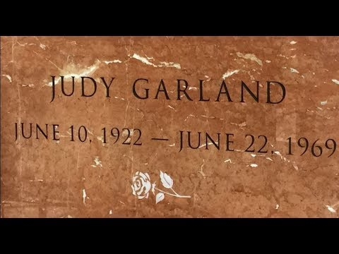 FAMOUS GRAVE - Visiting Judy Garland's NEW Final Resting Place In Hollywood, CA - RIP