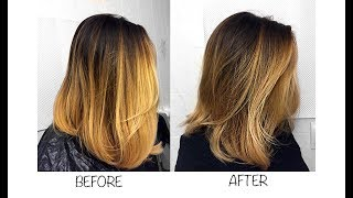 Wella T28 On Bleached Hair