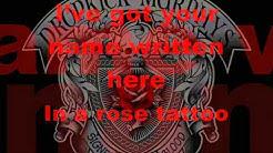 Dropkick Murphys - Rose Tattoo - mit Lyrics