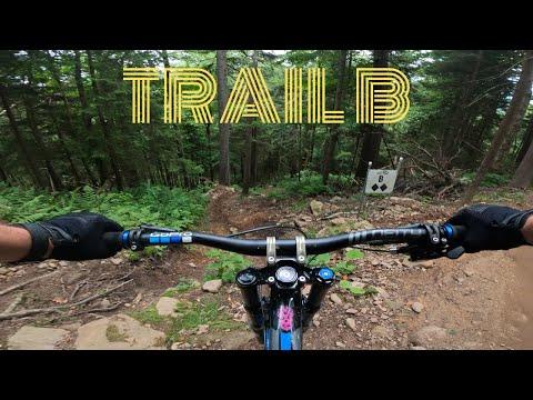 Trail B- Double Black Diamond At Snowshoe Bike Park [Full Trail 4K]