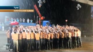 """Солистка """"Серебра"""" сбежала от толпы полуголых тульских мужчин"""