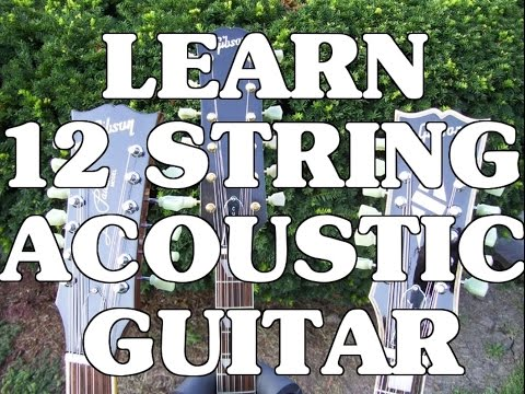 Learn 12 String Acoustic  Intro With Scott Grove