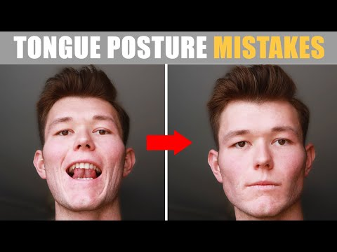 MEWING Mistakes that Will RUIN Your Face (BEST Tongue Posture)