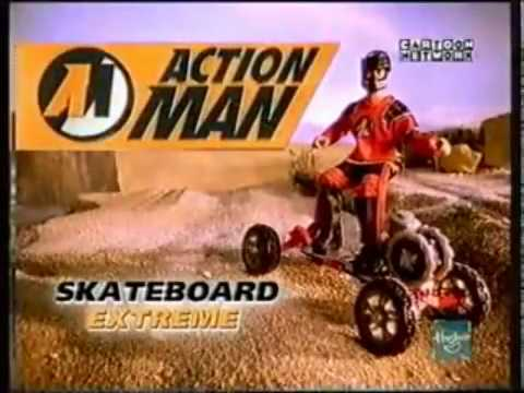 1998 Action Man Skateboard Extreme Advert