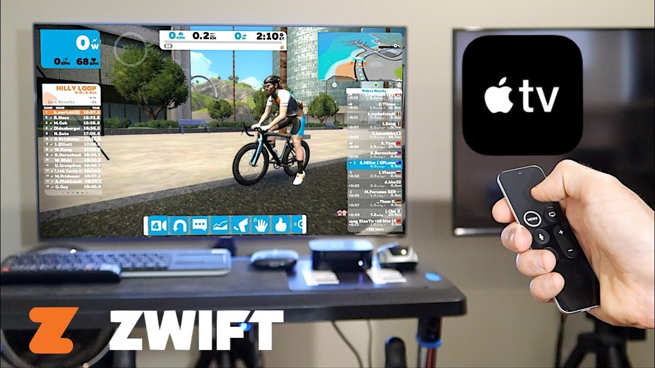 Zwift on Apple TV 4K: The A to Z User Experience  (Unbox/Install/Interface/Devices)
