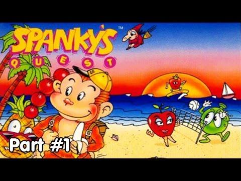 Slim Plays Spanky's Quest - #1. Spanky's Fruit Nightmare!