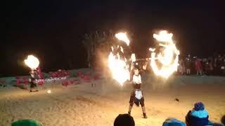 Фаер шоу Adelaida в Корее Олимпиада-2018