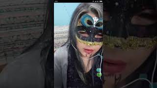 Gambar cover Basah-Tante bertopeng lagi live bigo sambil colmek