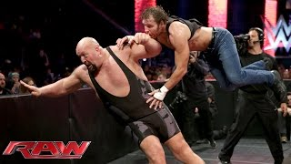 Dean Ambrose vs. Big Show: Raw, July 27, 2015