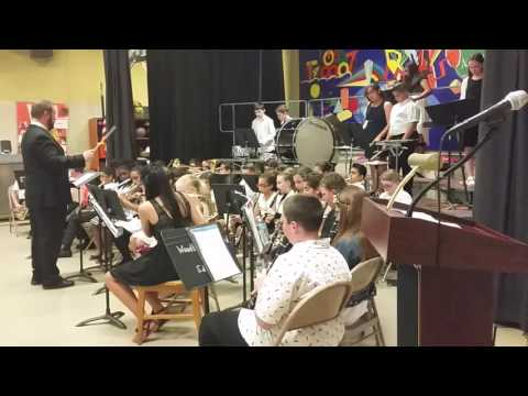 Declan's spring band concert Pennsylvania Ave School 27