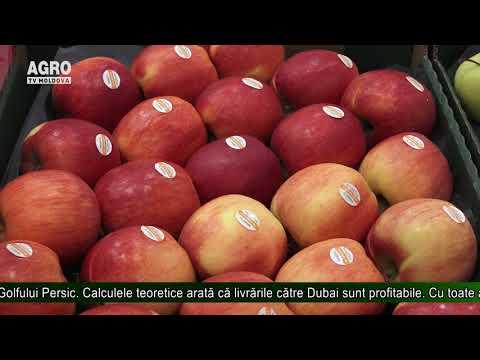Al doilea lot de mere a ajuns în Dubai