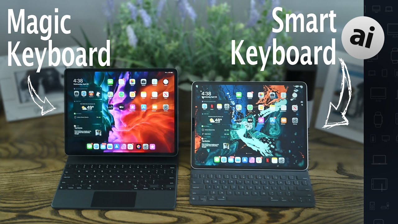 Compared: Magic Keyboard versus Smart Keyboard Folio