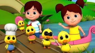 Lima bebek kecil | sajak anak-anak | Puisi untuk anak-anak | Five Little Ducks | Kids Tv Indonesia