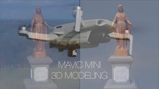 Mavic Mini en modélisation 3D