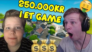 DANSKER VANDT 250.000 KRONER PÅ ET FORTNITE GAME (Dansk Fortnite Vod Review) | Zrool