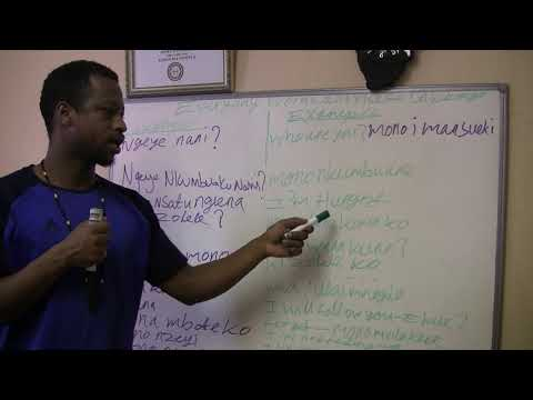 KIKONGO IS THE REAL HEBREW LANGUAGE ISRAEL LETS LEARN PART 1