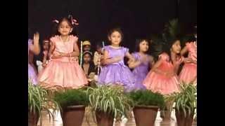 bishop cotton girls school kindergarten christmas program 2012