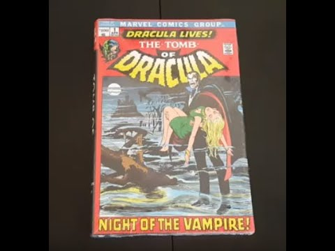 Tomb of Dracula Omnibus Volume 1 – Unwrapping, Overview & Review (has printing error & uncut pages)