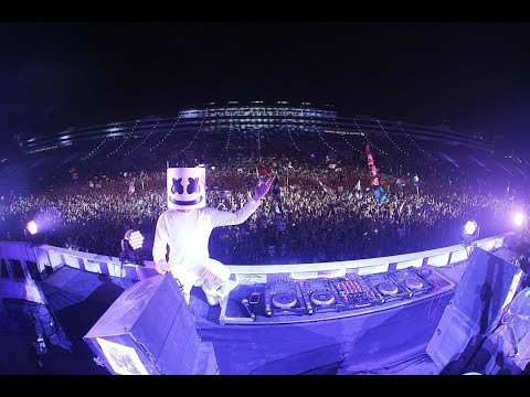 Marshmello,Skrillex & Martin Garrix live @ Electric Daisy Carnival Las Vegas 2016.