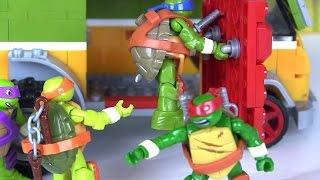 Черепашки Ниндзя Мультфильм на Русском Языке. Мультики для Детей. Игрушки для Мальчиков