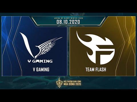 V Gaming vs Team Flash | VGM vs FL - Vòng 12 ngày 1 [08.10.2020] - ĐTDV mùa Đông 2020