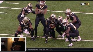 Saints vs. Bears   NFL Week 8 Game Highlights (reaction)