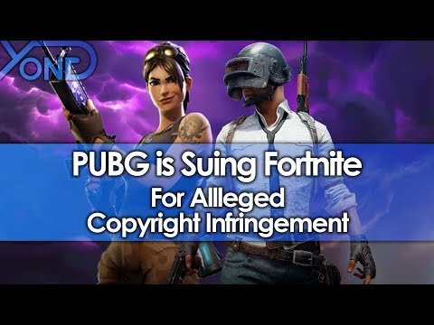 PUBG is Suing Fortnite for Alleged Copyright Infringement