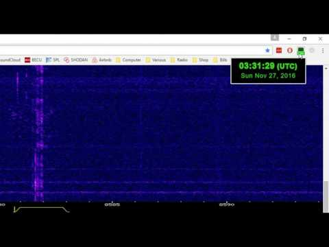 South African Navy MFSK at 8580 kHz