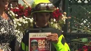 John Velazquez's 800th Win