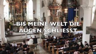 BIS MEINE WELT DIE AUGEN SCHLIESST (Alexander Knappe) zur Hochzeit-Cover von Stephanie Meissner