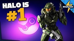 Halo Is Number 1 On Steam!