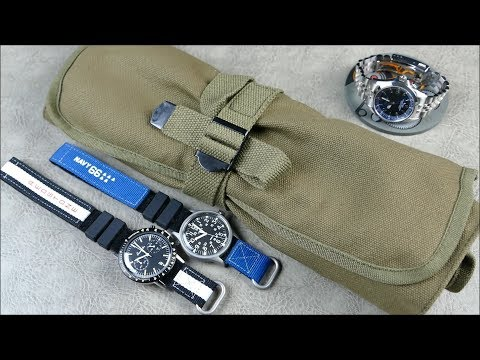 On The Wrist, From Off The Cuff: Haveston New Releases – IVA Straps, Calibre Coaster, And Strap Roll