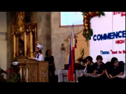 krisel mallari graduation speech