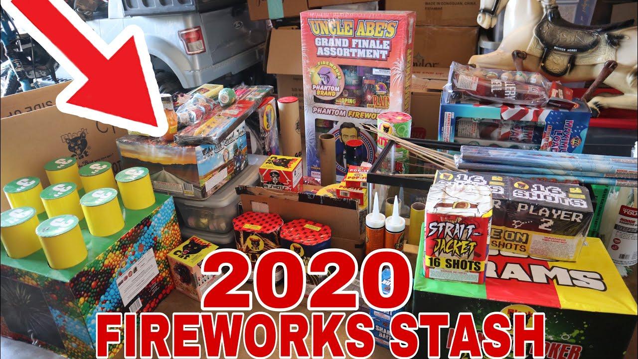 2020 4th of July fireworks stash!