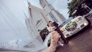Dandin and Honey Kim Wedding (Church Ceremony) - Iglesia Ni Cristo Wedding