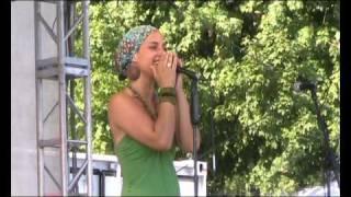"21.07.2010 Kaye-Ree & The Reevolution Band - ""Intro"" - live in Frankfurt"