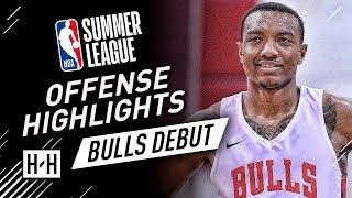 Wendell Carter Jr. Full Offense Highlights at 2018 NBA Summer League - Chicago Bulls Debut!