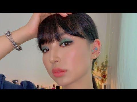Green Eye Shadow Make-up | Sunday GRWM LIVE thumbnail