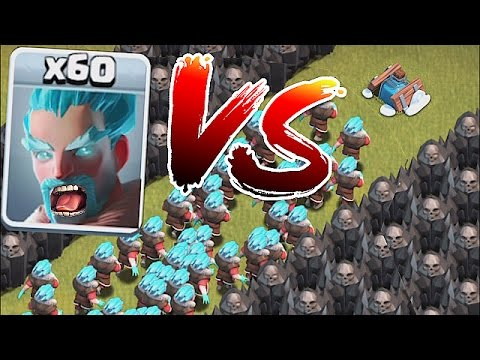 Thumbnail: THIS IS INSANE!! 😀ICE WIZARD!! SWARM vs. FREEZE TRAP🔸Clash of clans Troll!