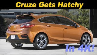 2017 Chevrolet Cruze Hatchback Review and Road Test In 4K UHD!