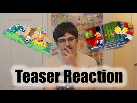 Rocko and Hey Arnold! TV Movie Teaser Reaction