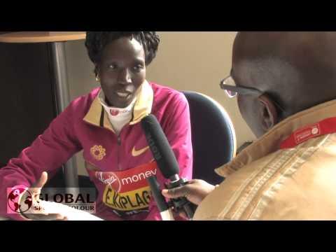 Edna Kiplagat talks winning London Marathon and Beijing World Championships