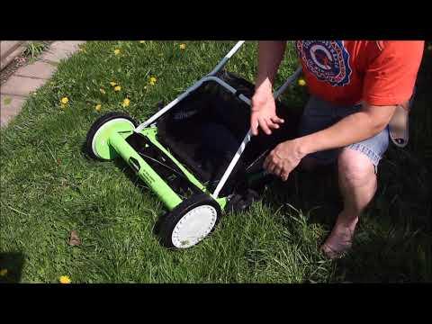 GreenWorks 20-Inch Push Reel Mower